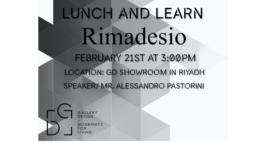 Lunch & Learn session with RIMADESIO