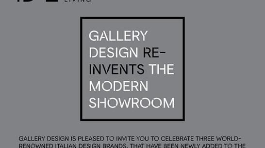 Gallery Design Reinvents the Modern Showroom